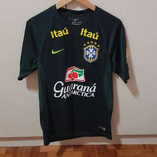Nike brazil training jersey with sponsor patches (very rare)