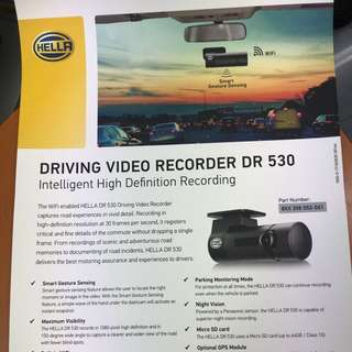 Car camera /Car camera HELLA DR 530 Promotion Offer