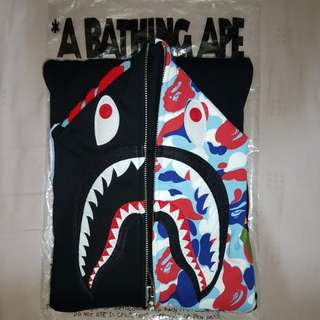 Bape Shark Hoodie Paris Exclusive