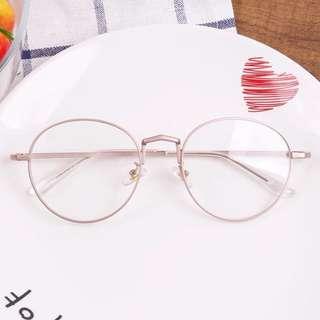 Rose Gold Korean Glasses