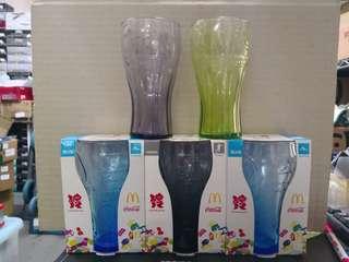 麥當勞可口可樂紀念奧運水杯 五只