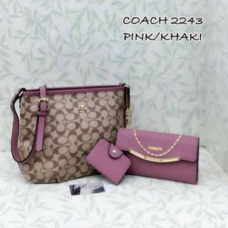 Coach 3 in1 Set Pink Color