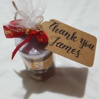 Gift Tag Customisation