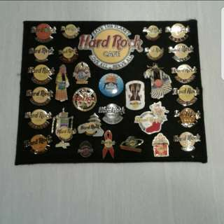 Hard Rock Pin ( Display Set  )