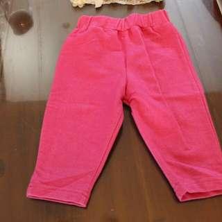Leggink jeans pink