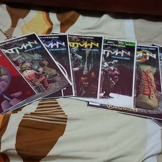 Batman New 52 #0, #13 - #40, Annual 2, Annual 3, #23. 1, #23.2, #23. 3 & #23. 4
