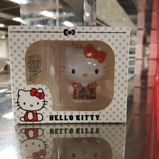 Red Pink Hello Kitty Ezlink Charm