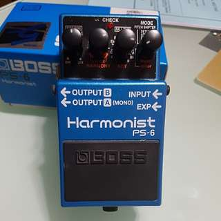 Boss Pitch Shifter PS-6 Harmonist