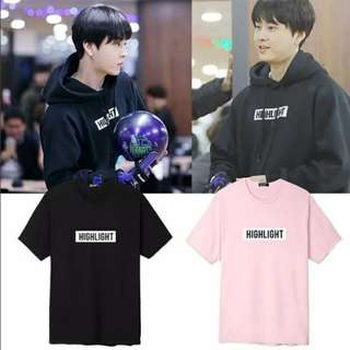 Preorder - HIGHLIGHT TSHIRT SIZE ; S~3XL COLOUR AS SHOWN ONLY (exc.pos)