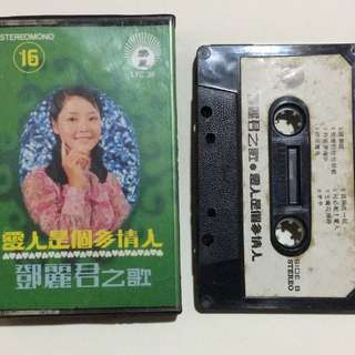鄧麗君片帶 Teresa Teng Chinese Cassette