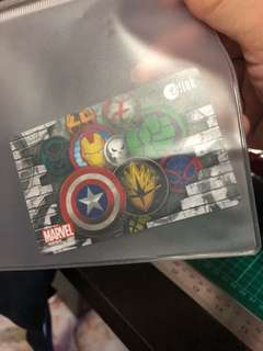 BN Marvel Ezlink Card