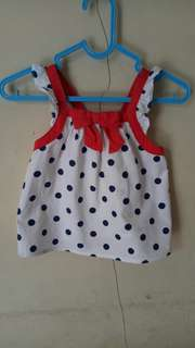 Gymboree mini dress baby top
