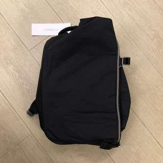 全新 Côte & Ciel Isar Small Black Nylon Backpack