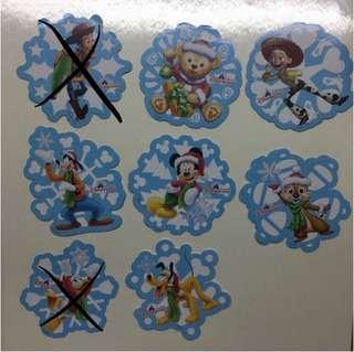 香港迪士尼貼紙 Disney (雪花)