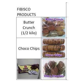FIBISCO FACTORY COOKIES