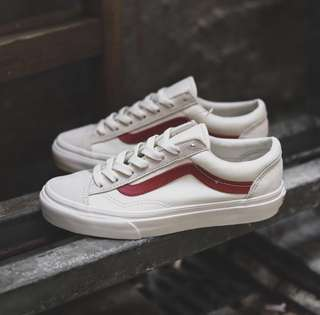 US6.5 - US9 Vans Marshmallow Style 36 Racing Red G-Dragon