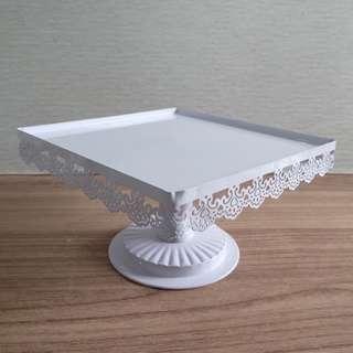 Cake tier / tart stand / piring cup cake, kue, tart