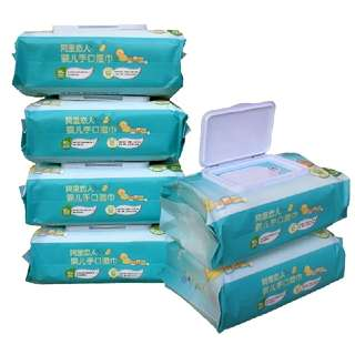 No Alcohol 90 Sheets Baby Wipes