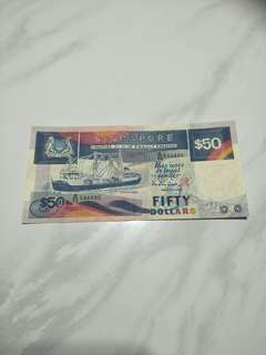 Sg old $50 notes