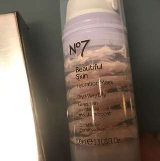 No.7 beautiful skin hydrate mask
