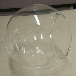 large glass ball jar