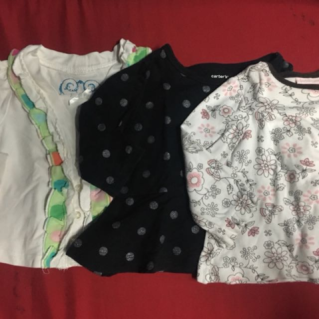 3-6 Months Long Sleeves Baby girl clothes