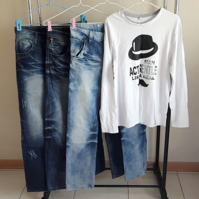 褲+衣*4