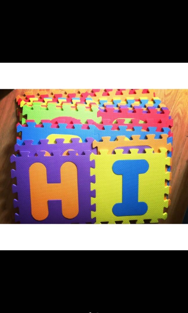 52 Pcs Puzzle Alphabet Mat