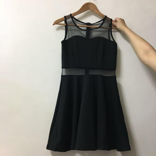 全新💕透視感洋裝