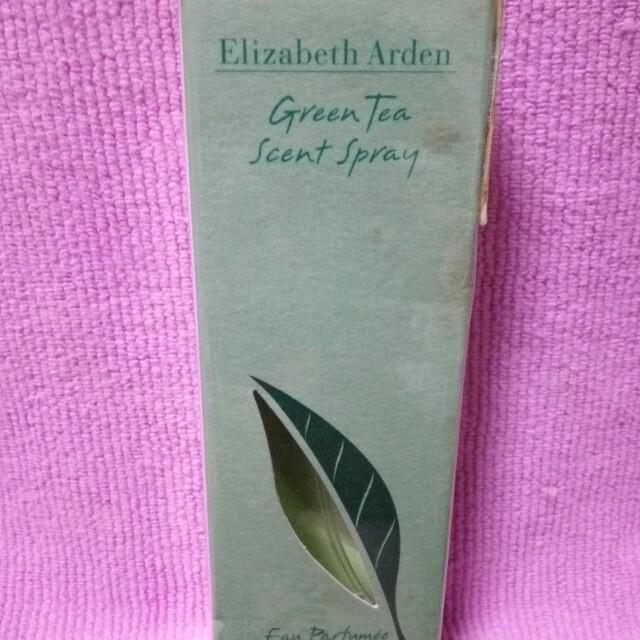 過期未拆【伊麗莎白雅頓】綠茶噴式香水