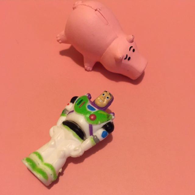 玩具總動員 公仔 巴斯光年 火腿豬