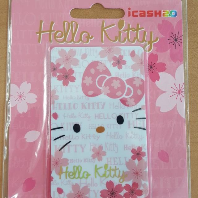 貨到付款【現貨】 hello kitty愛金卡 hellokitty icash2.0 捷運卡火車卡公車卡交通卡