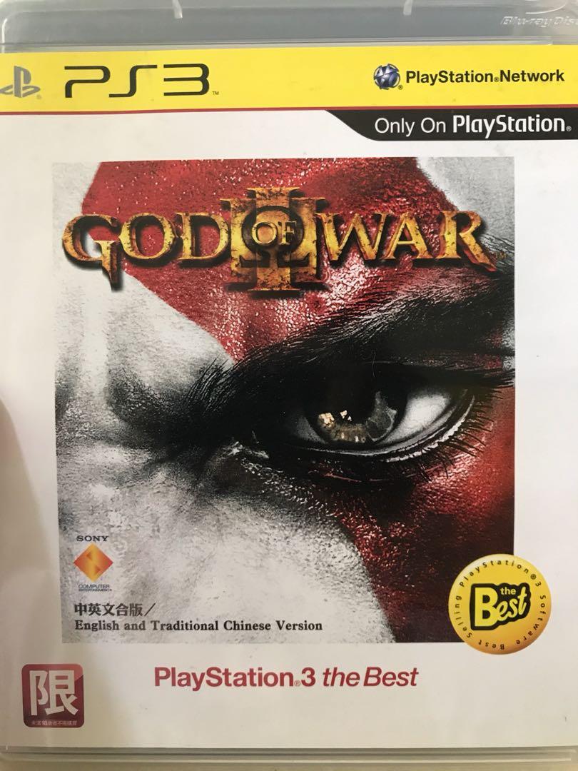 包郵 PS3 GOD OF WAR 中英版 95%新