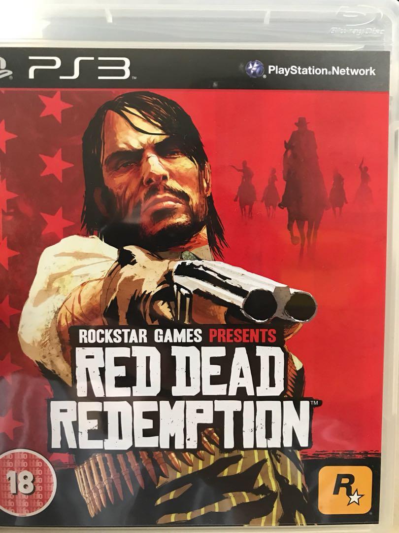 包郵 PS3 Red Dead Redemption 95%新