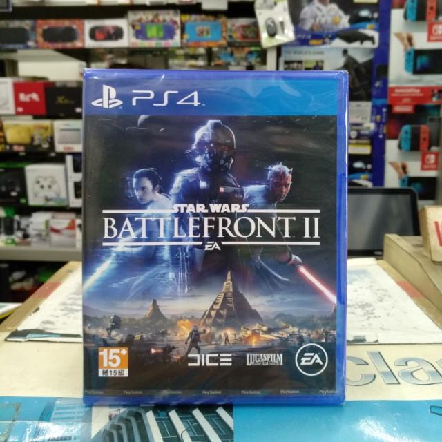 🆕 PS4 Star Wars Battlefront 2