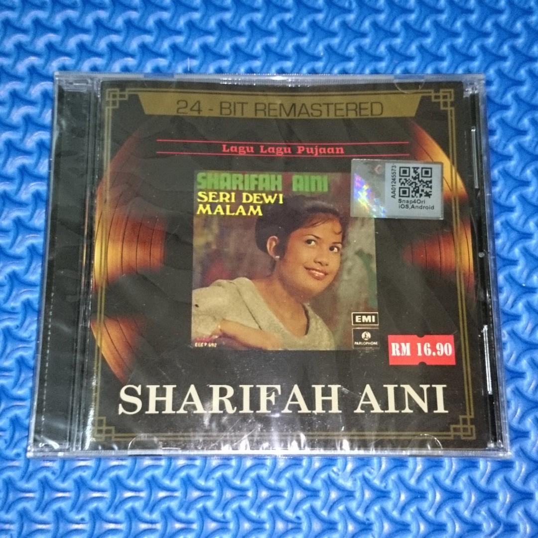 🆕 Sharifah Aini - Seri Dewi Malam (24-Bit Remastered) [2014] Audio CD
