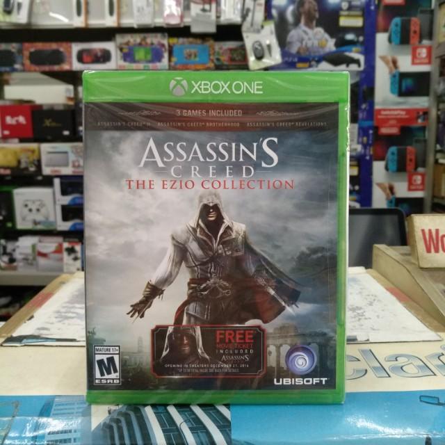 🆕 Xbox One Assassin's Creed The Ezio Collection
