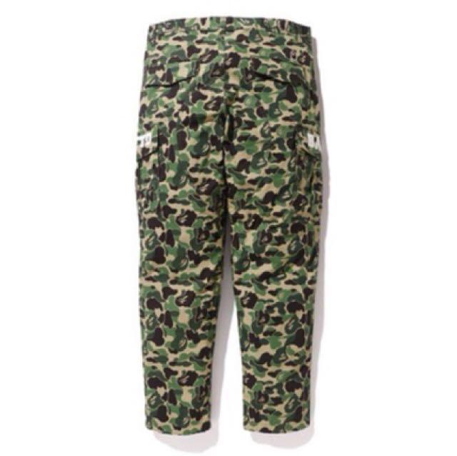 A Bathing ape BAPE UNDEFEATED 6POCKET PANTS 聯名 六口袋 綠迷彩 工作褲
