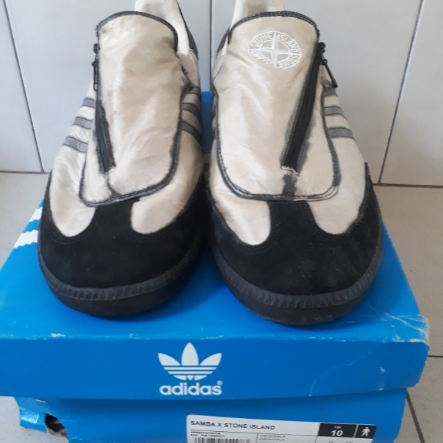 hot sale online 097a6 e268b Adidas samba x stone island