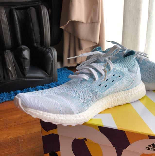 792e9a60f80 Adidas UltraBoost Uncaged Parley Coral Bleaching CP9686