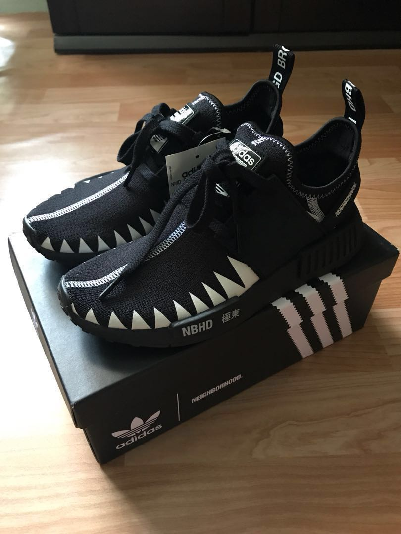 Adidas X Neighborhood R1 PK NMD US5, Bae Size