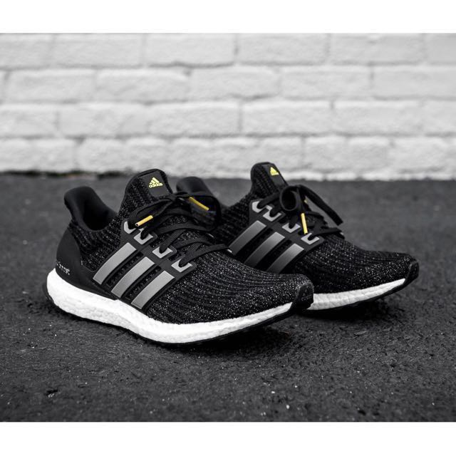 0fa4b1531dba9 Authentic Adidas Ultraboost 4.0 5th Anniversary Black