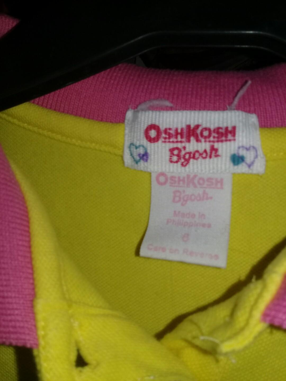 Authentic OSHKOSH b'gosh poll shirt