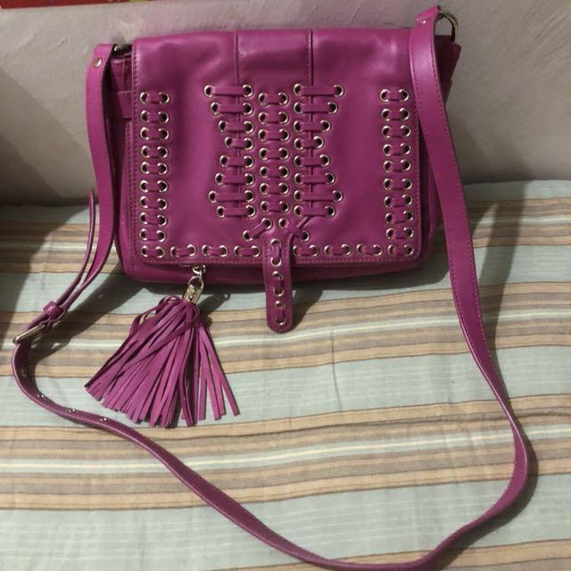 Authentic Rebecca Minkoff Dexter Leather crossbody  bag