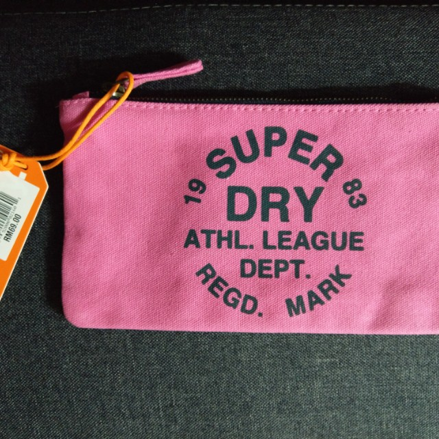 Authentic Super Dry Pencil Case