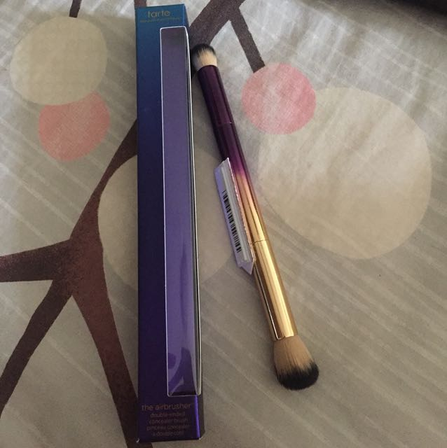 Authentic Tarte The Airbrusher Double-ended Concealer Brush