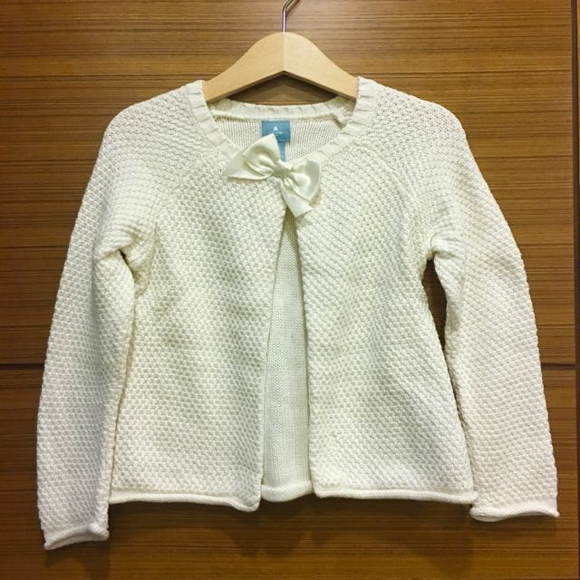 BabyGAP 針織蝴蝶結外套