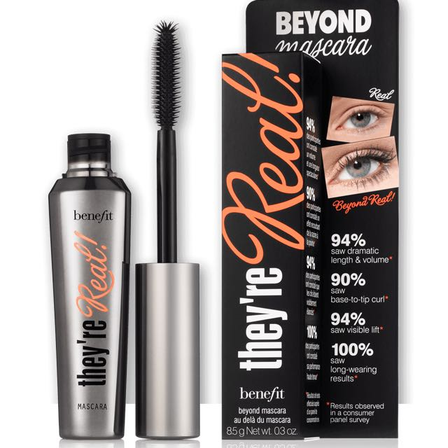 Benefit they're real beyond jet black mascara