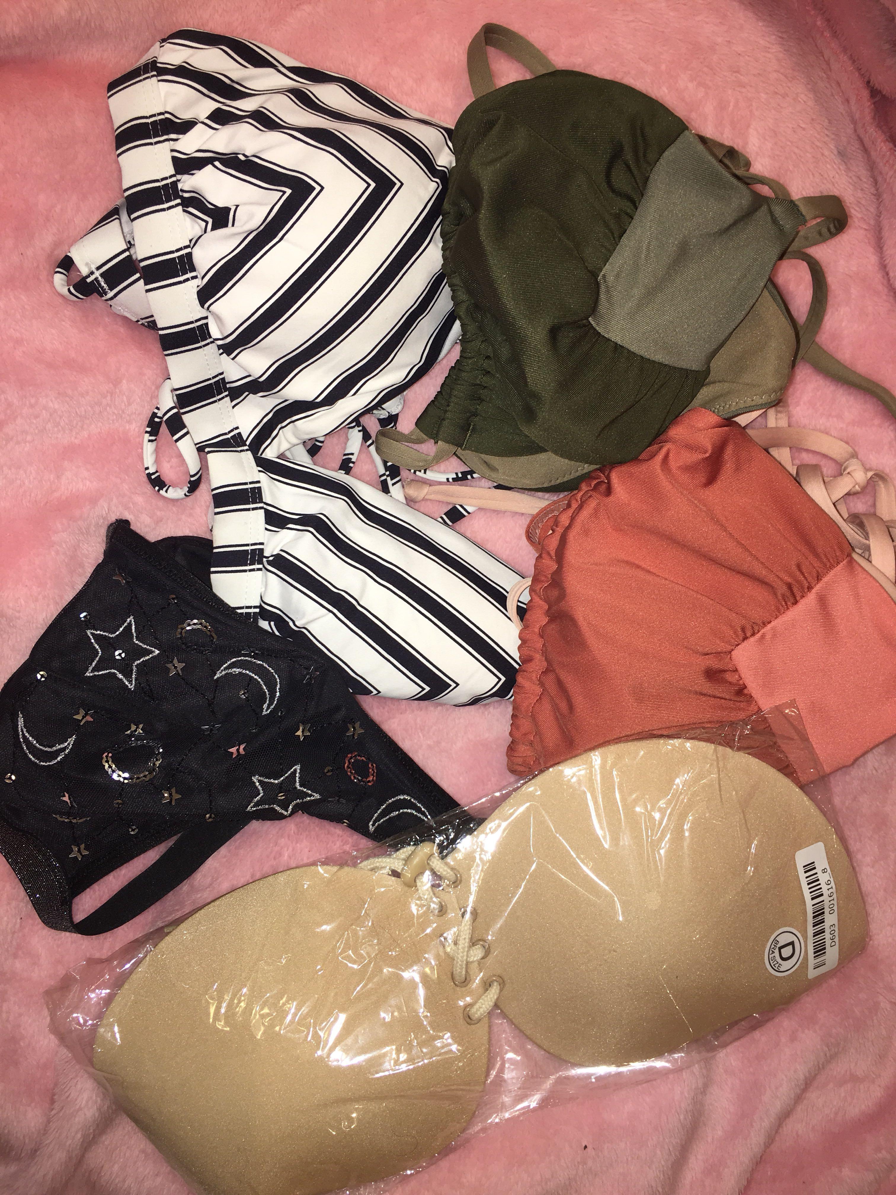 Bikini Tops, New Silicone bra, VS Bralette