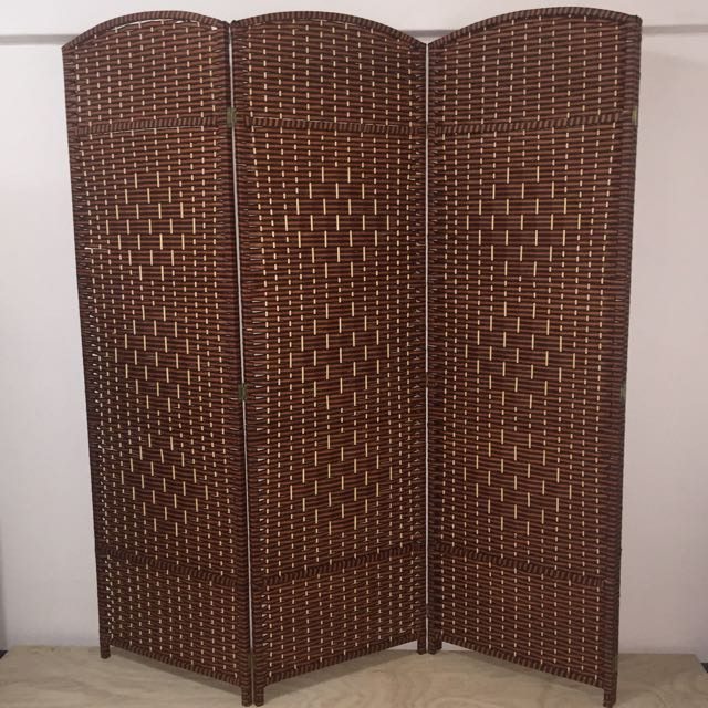 metal privacy g fabric white item room office screen home divider w panel frame